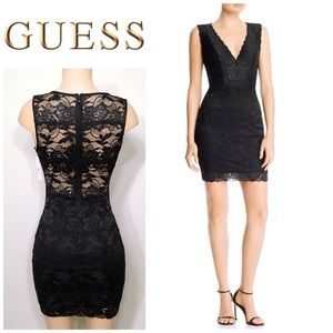 Guess lace stretch dress. NWT